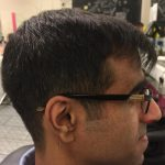 Image of haircut: short back and sides
